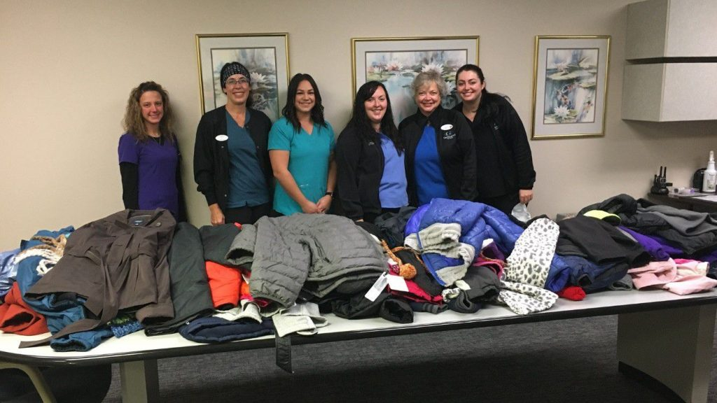 GEC recently held a coat drive to share the warmth with folks in the community this winter